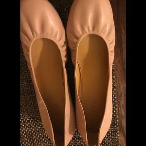 Brand New Blush/Tan Ballet Flats J Crew.
